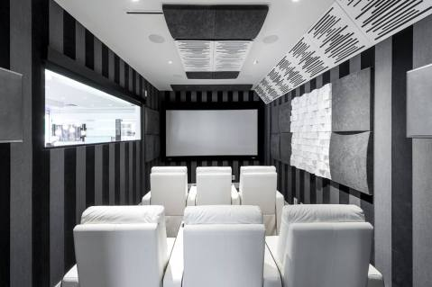 Dolby Atmos Home Theatre with Acoustic Treatments