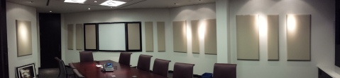 Acoustic Treatment in a Board Room